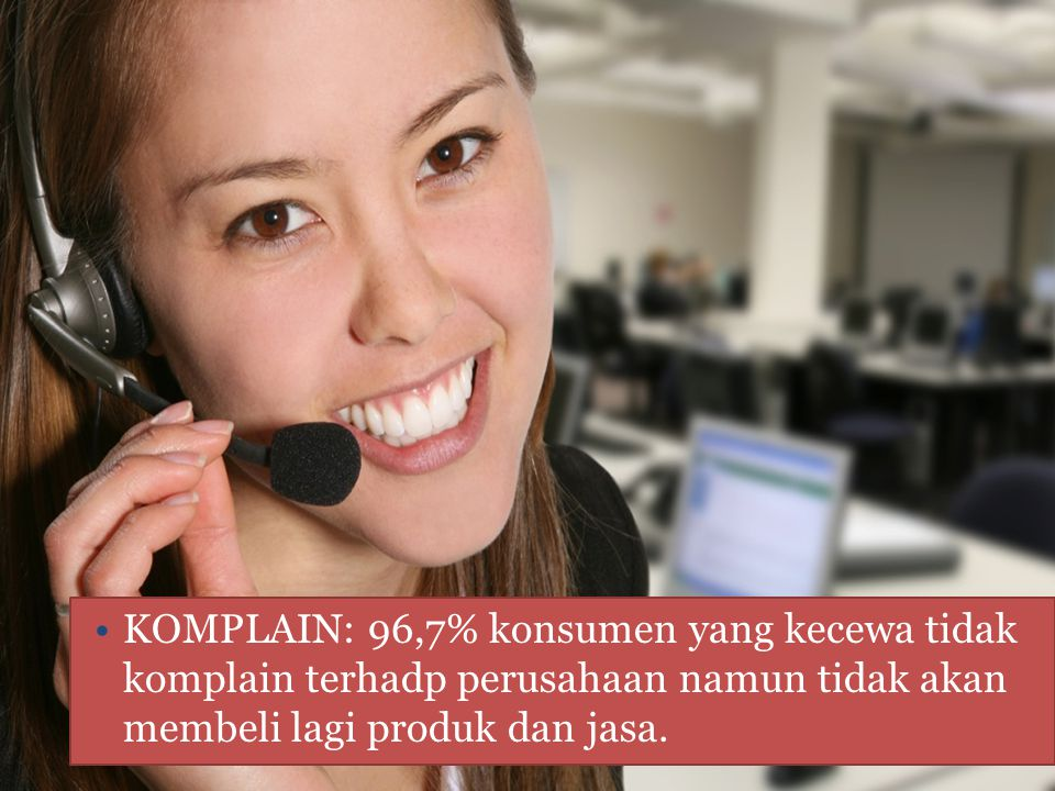 FUNGSI CUSTOMER SERVICE