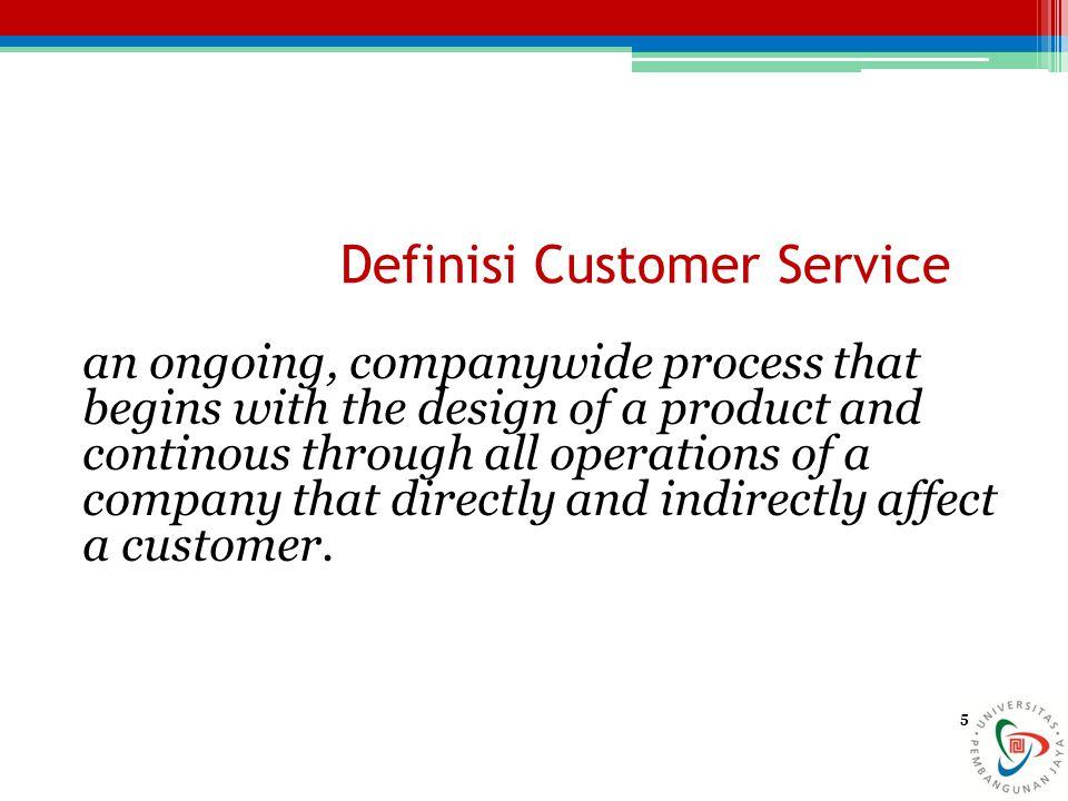 Definisi Customer Service