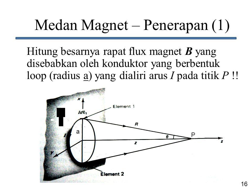 Medan Magnet – Penerapan (1)