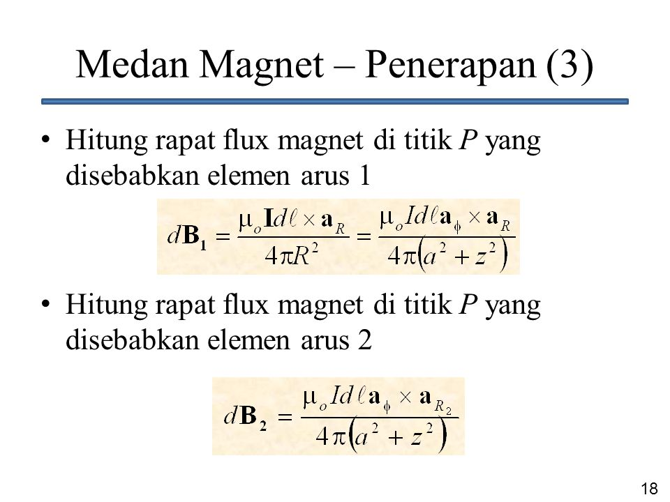 Medan Magnet – Penerapan (3)