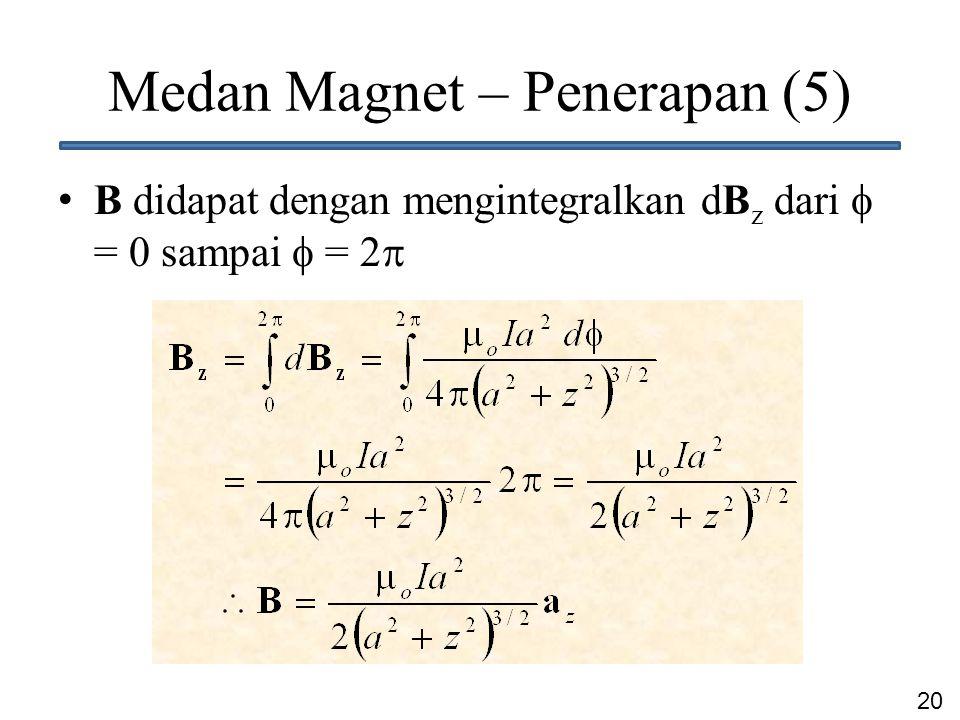 Medan Magnet – Penerapan (5)