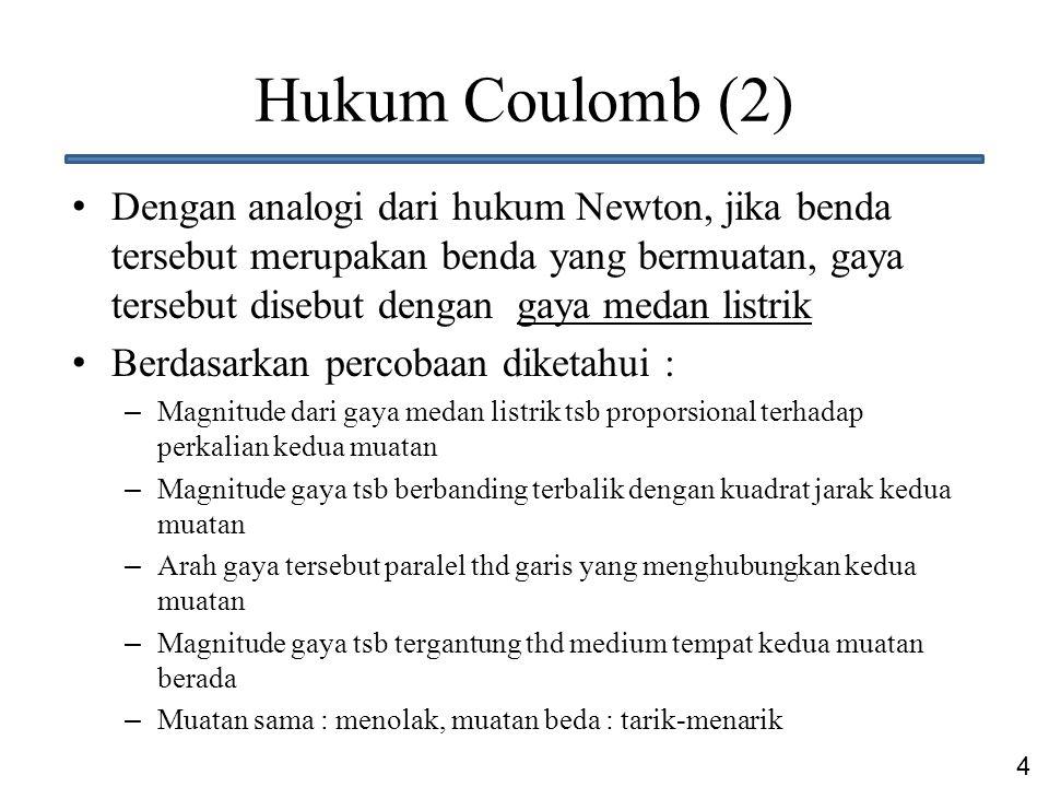 Hukum Coulomb (2)