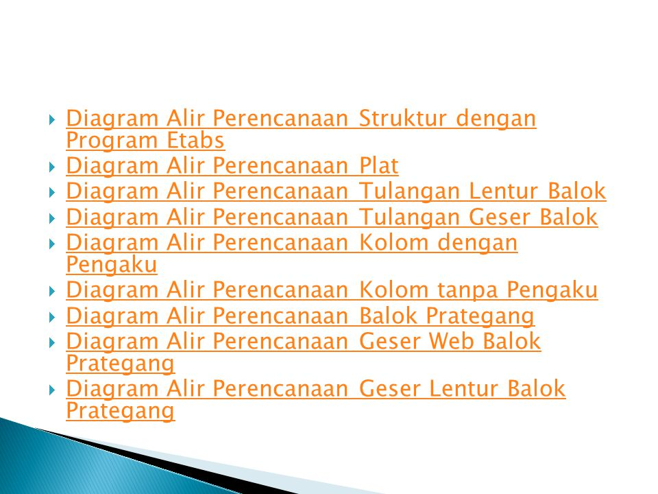 Diagram Alir Perencanaan Struktur dengan Program Etabs