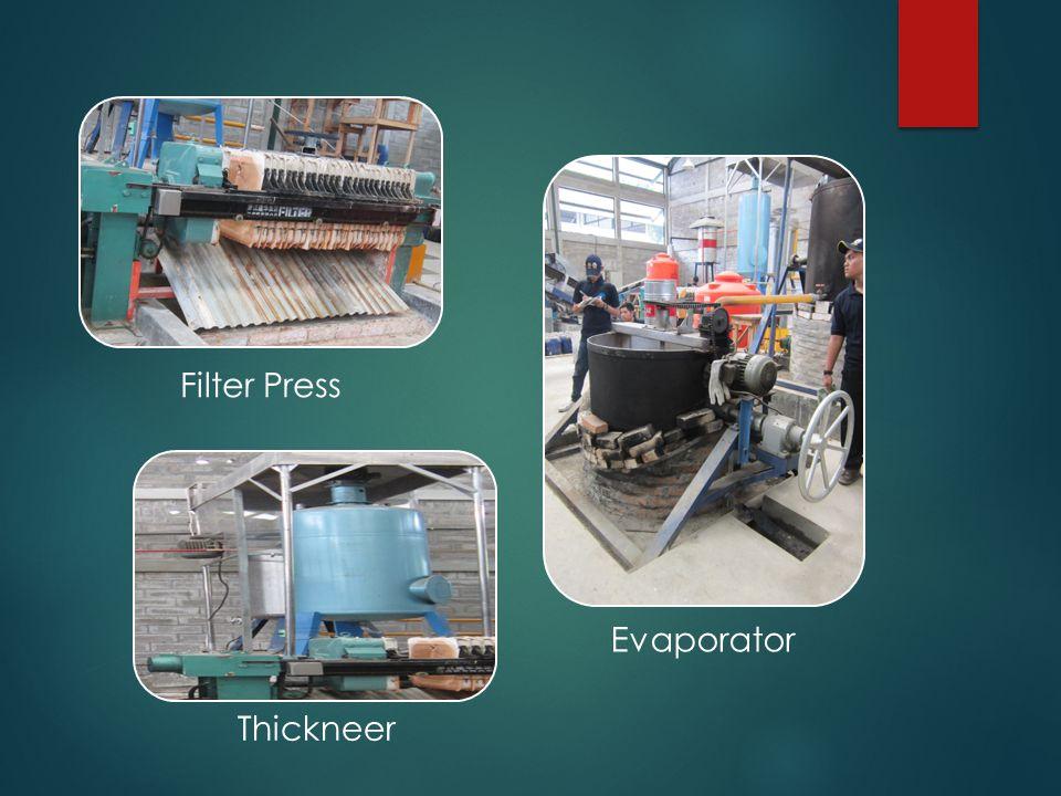 Filter Press Evaporator Thickneer