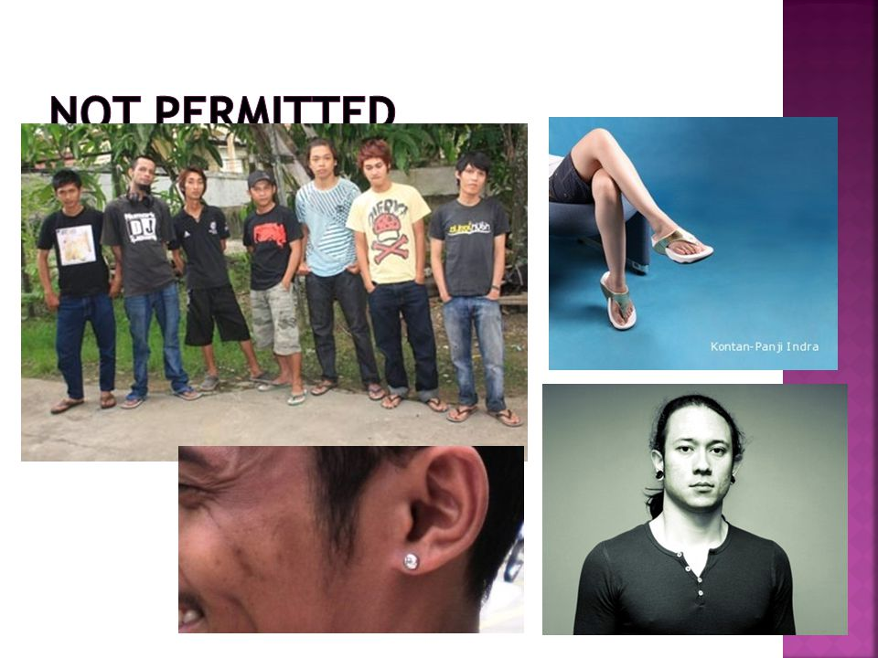 Not permitted