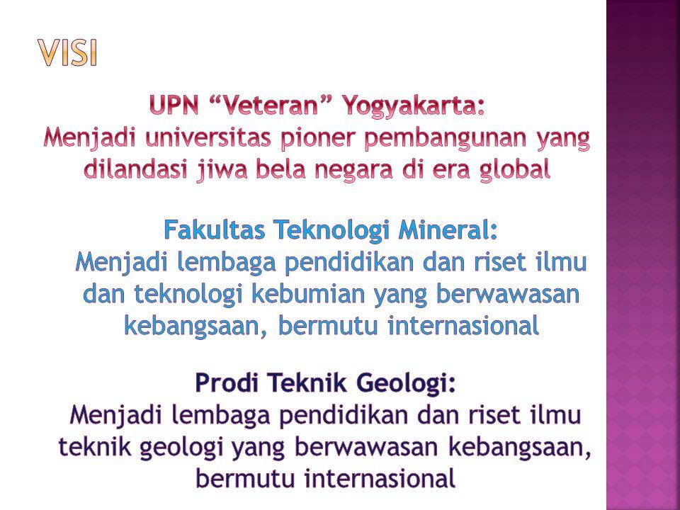 UPN Veteran Yogyakarta: Fakultas Teknologi Mineral: