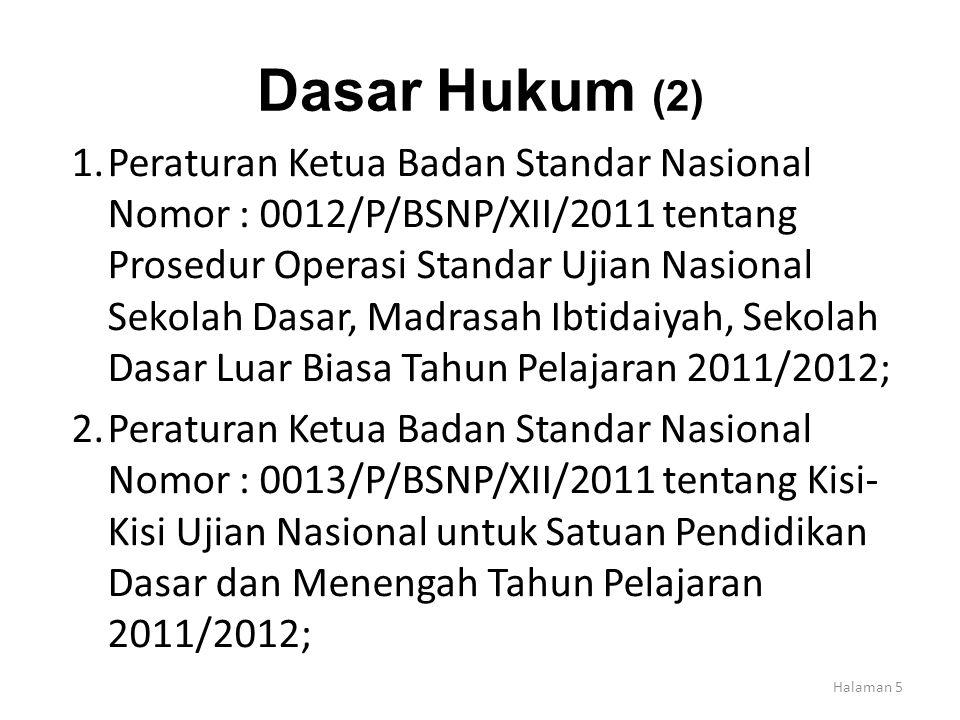 Dasar Hukum (2)