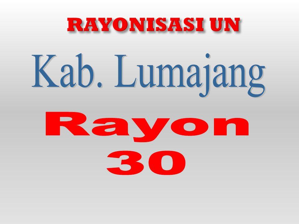 RAYONISASI UN Kab. Lumajang Rayon 30