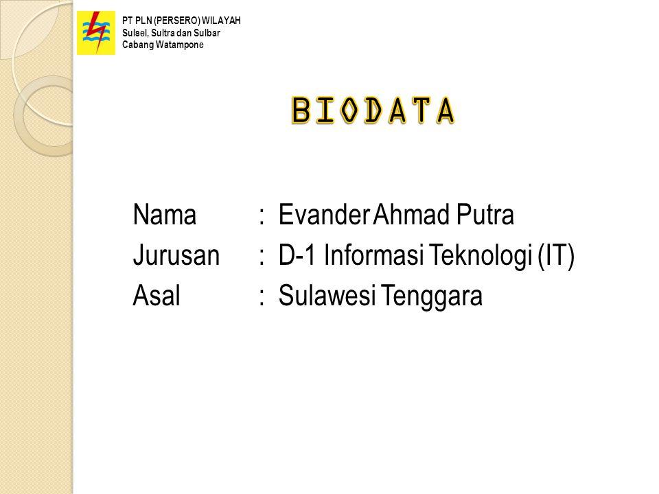 PT PLN (PERSERO) WILAYAH Sulsel, Sultra dan Sulbar Cabang Watampone