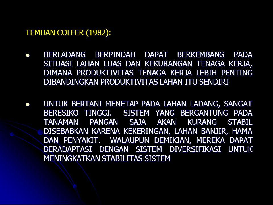 TEMUAN COLFER (1982):