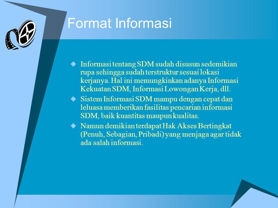 Format Informasi