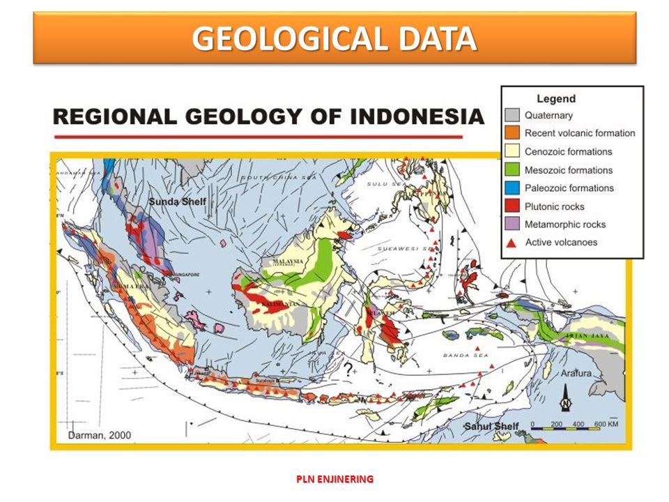 GEOLOGICAL DATA PLN ENJINERING