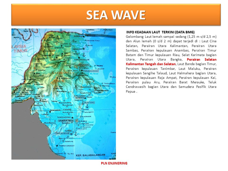 SEA WAVE INFO KEADAAN LAUT TERKINI (DATA BMG)