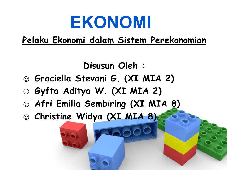 Pelaku Ekonomi dalam Sistem Perekonomian
