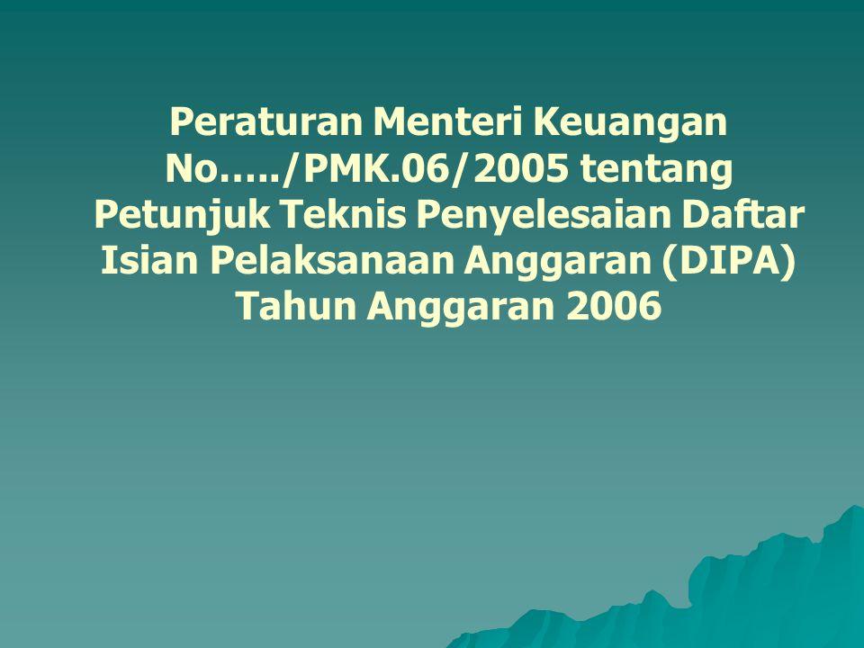 Peraturan Menteri Keuangan No…. /PMK