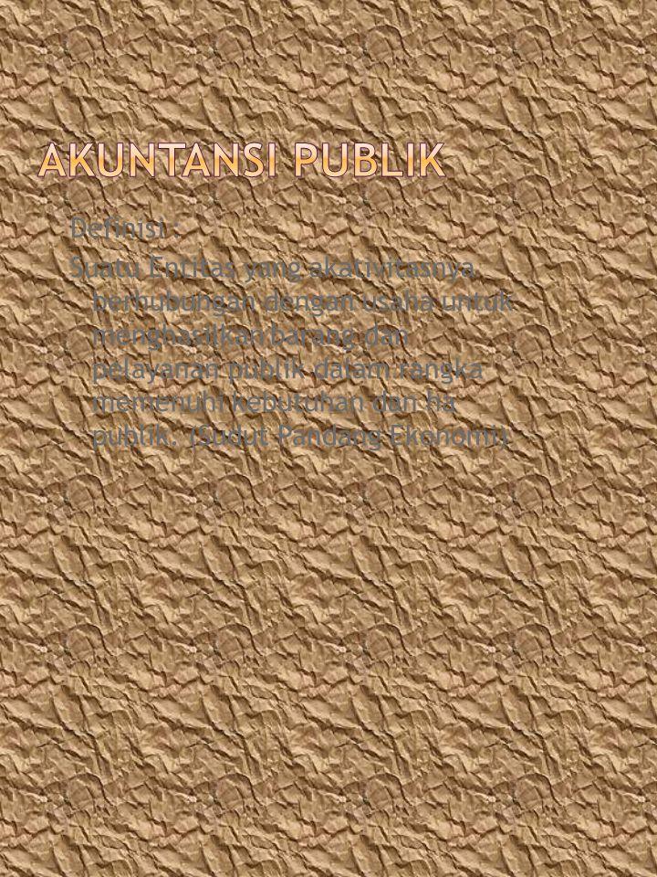 AKUNTANSI PUBLIK
