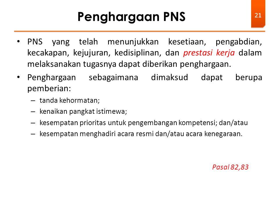 Penghargaan PNS