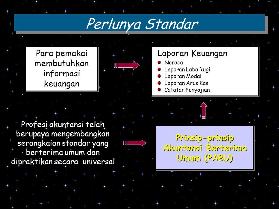 Prinsip-prinsip Akuntansi Berterima Umum (PABU)