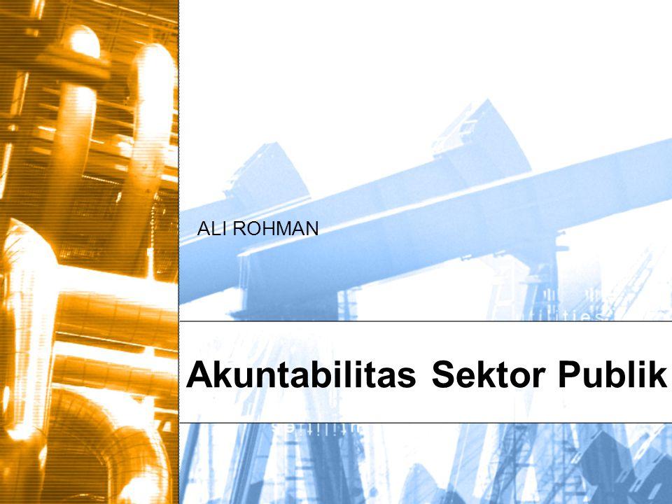 Akuntabilitas Sektor Publik