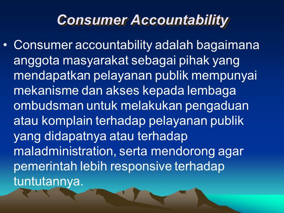 Consumer Accountability