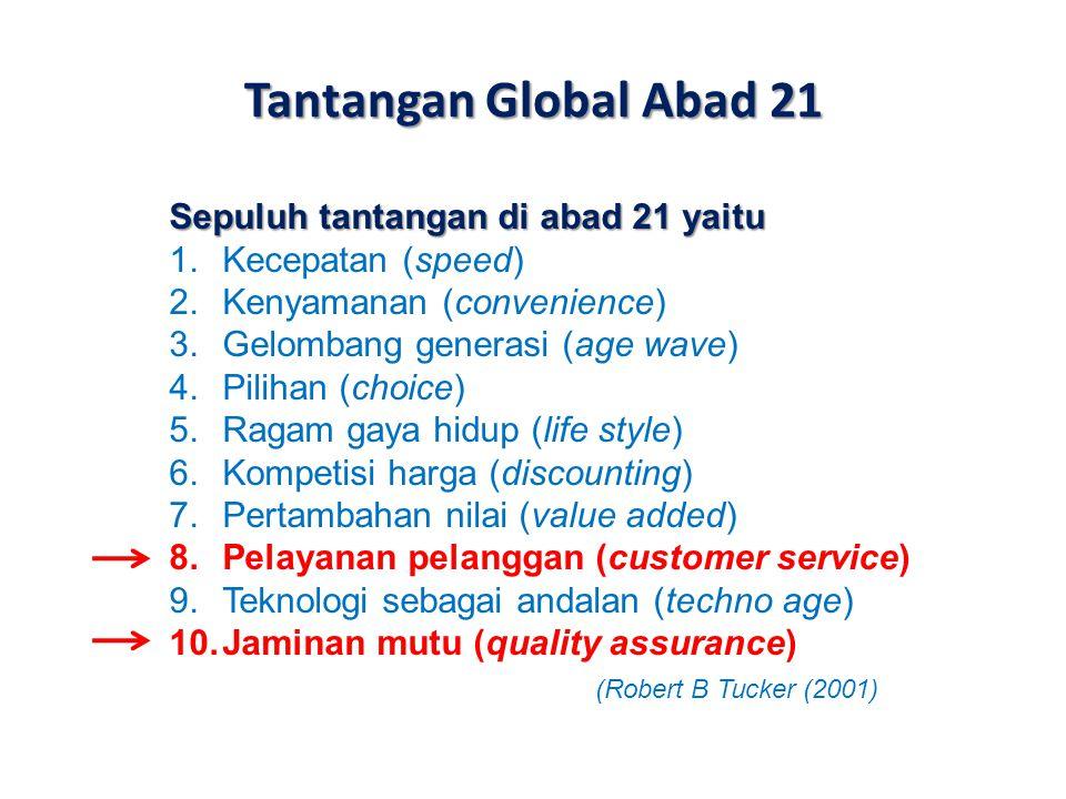 Tantangan Global Abad 21 Sepuluh tantangan di abad 21 yaitu