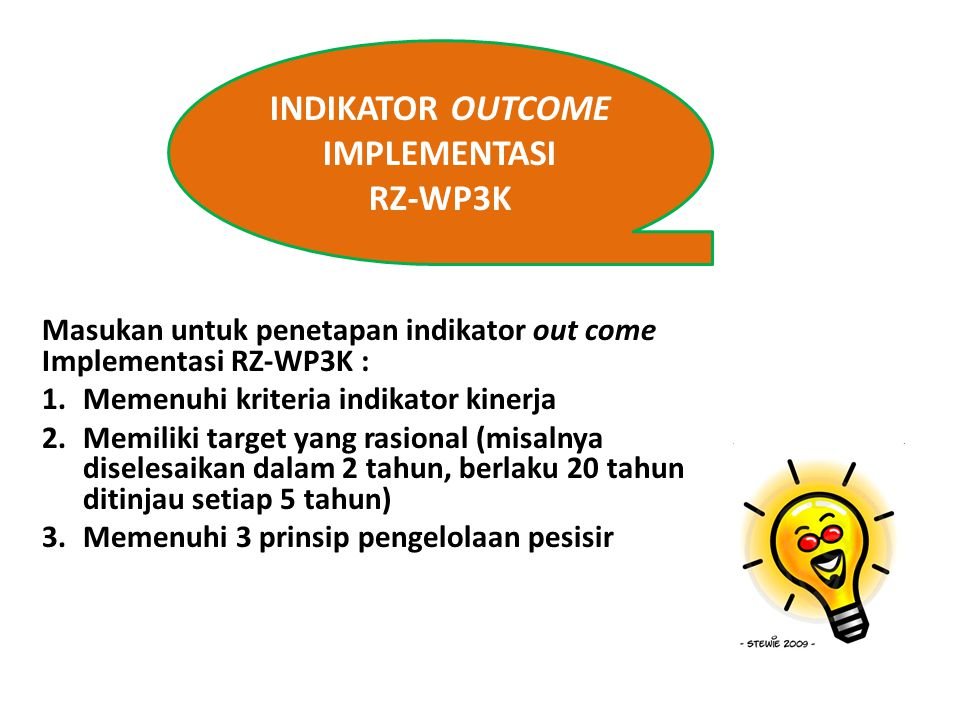 INDIKATOR OUTCOME IMPLEMENTASI