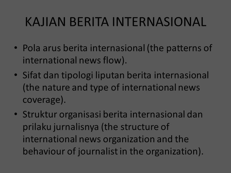 KAJIAN BERITA INTERNASIONAL