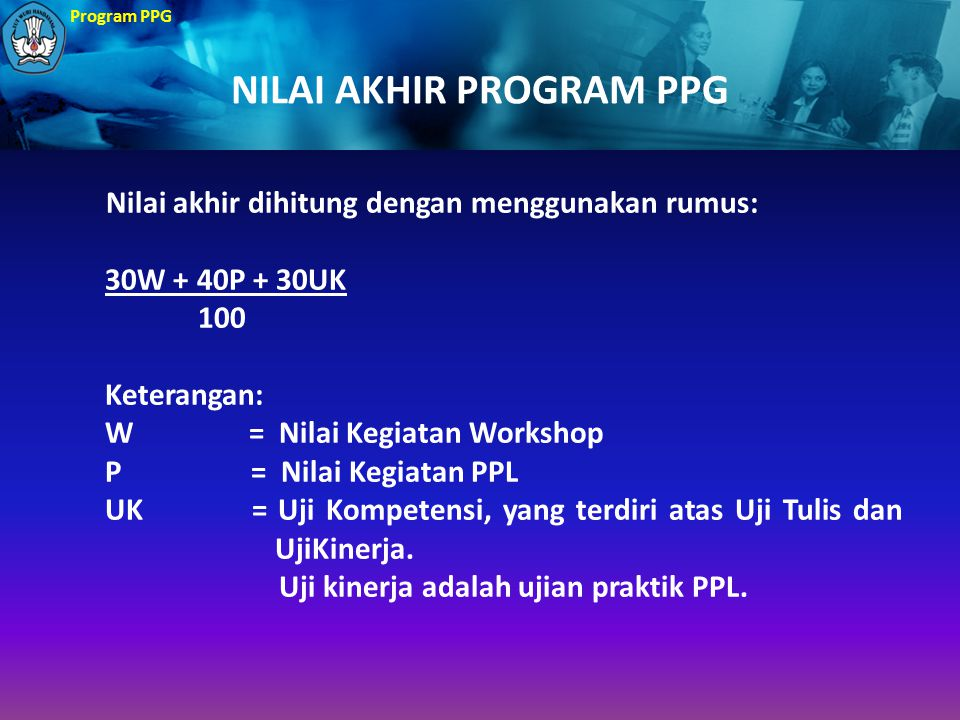 NILAI AKHIR PROGRAM PPG