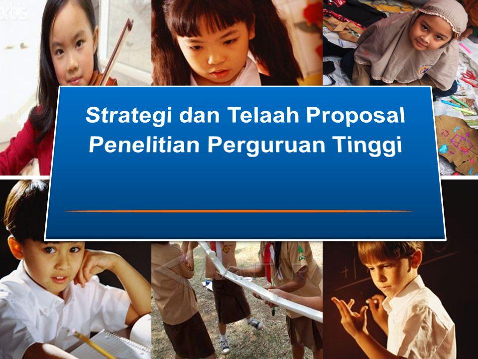 Strategi dan Telaah Proposal Penelitian Perguruan Tinggi
