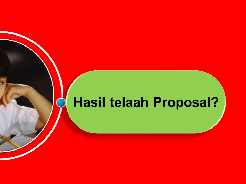 Hasil telaah Proposal