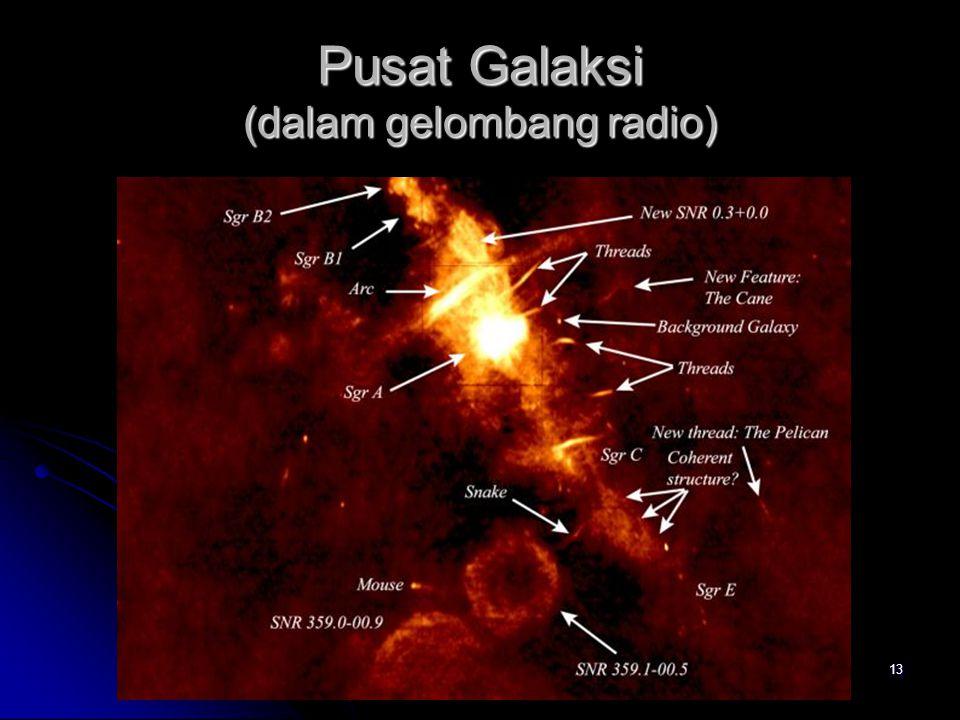 Pusat Galaksi (dalam gelombang radio)