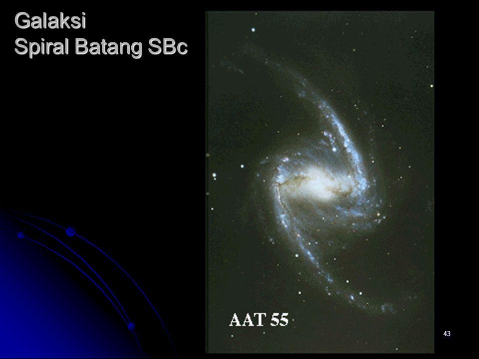 Galaksi Spiral Batang SBc