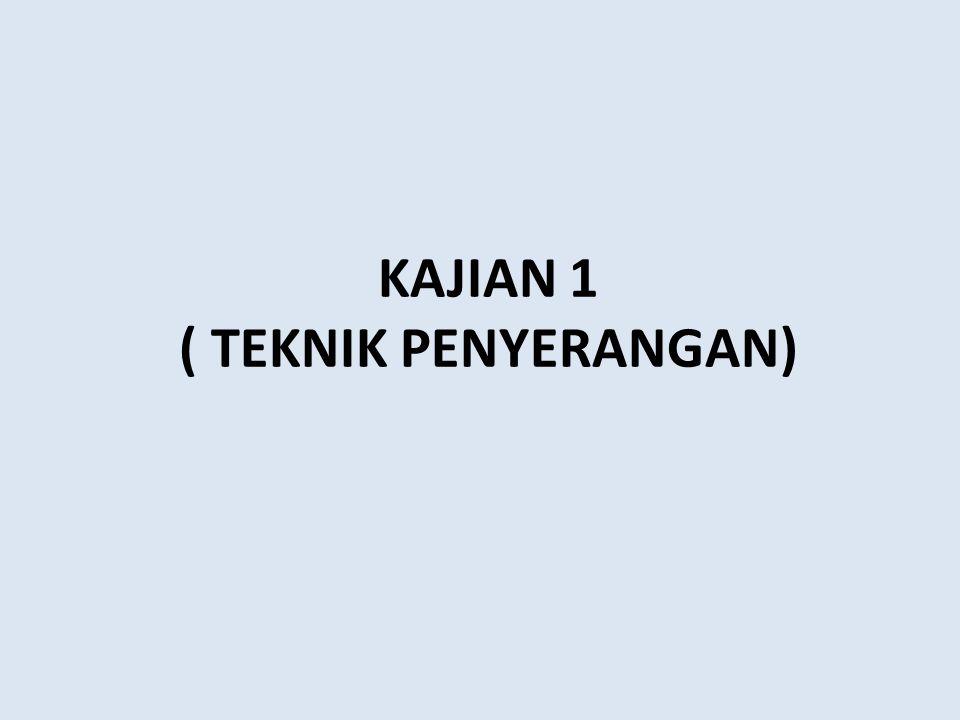 KAJIAN 1 ( TEKNIK PENYERANGAN)
