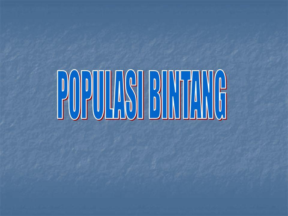 POPULASI BINTANG