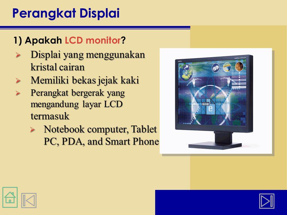 Perangkat Displai Displai yang menggunakan kristal cairan