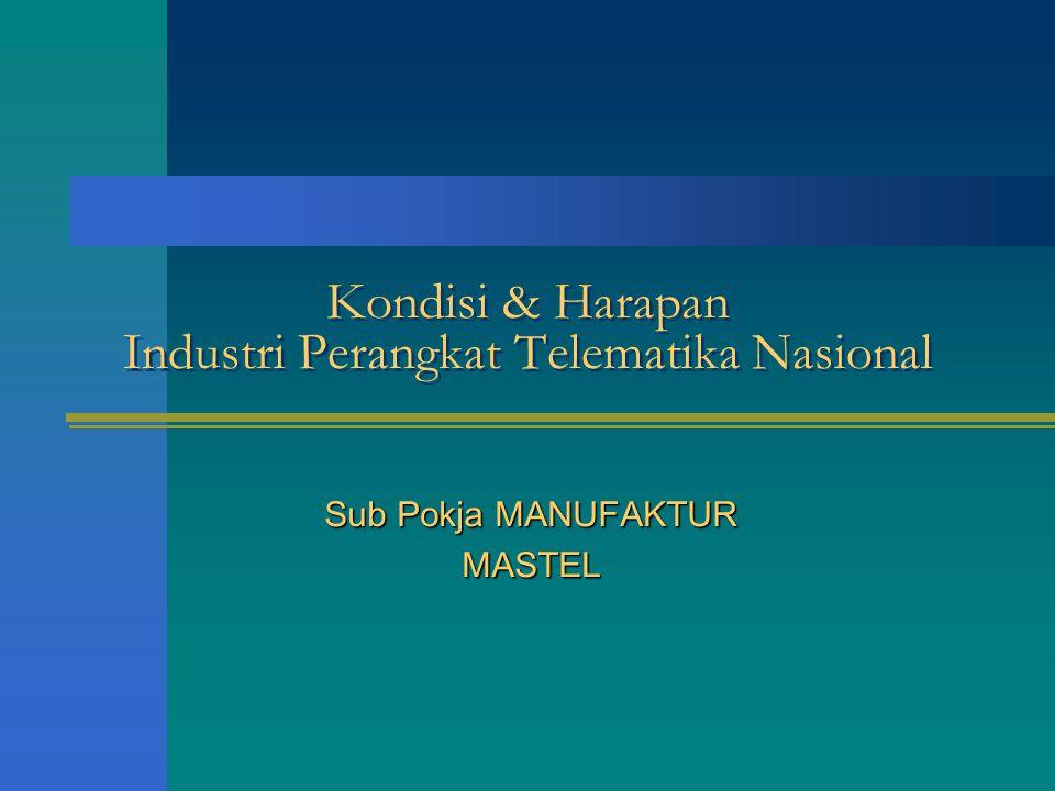 Kondisi & Harapan Industri Perangkat Telematika Nasional