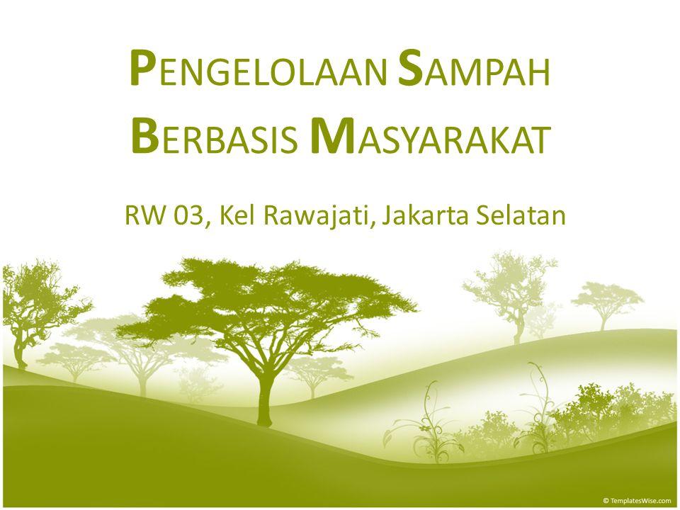 PENGELOLAAN SAMPAH BERBASIS MASYARAKAT