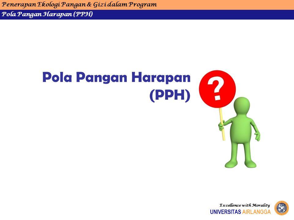 Pola Pangan Harapan (PPH)