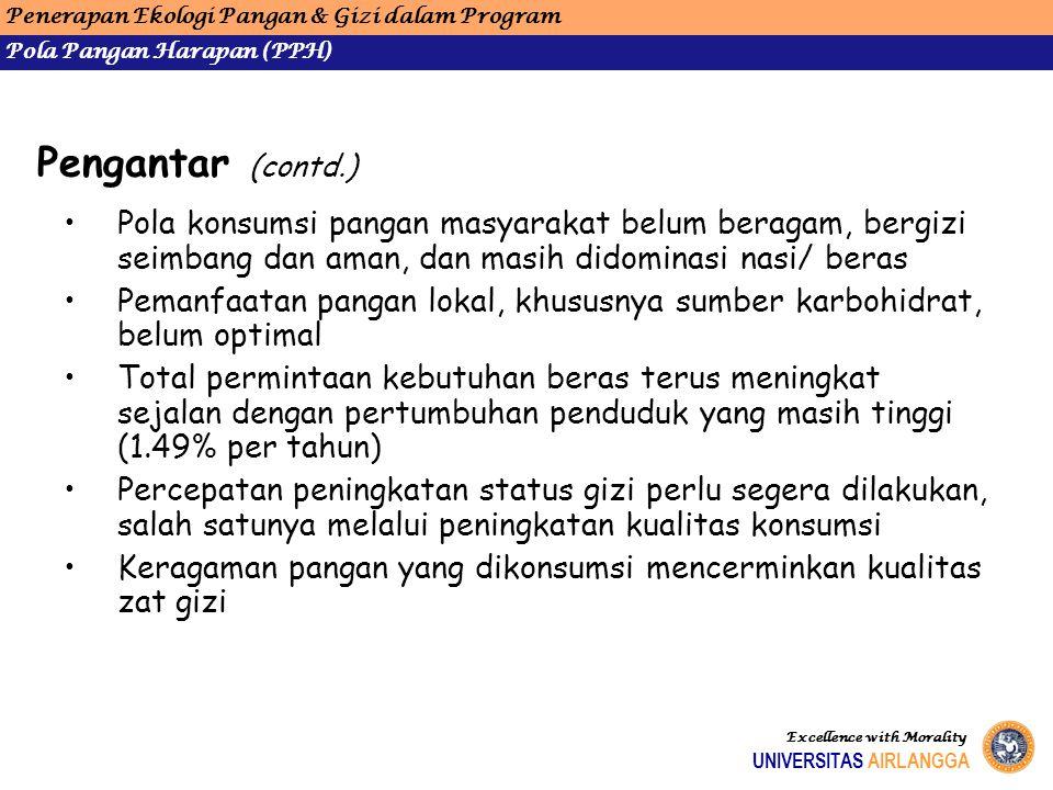 Penerapan Ekologi Pangan & Gizi dalam Program