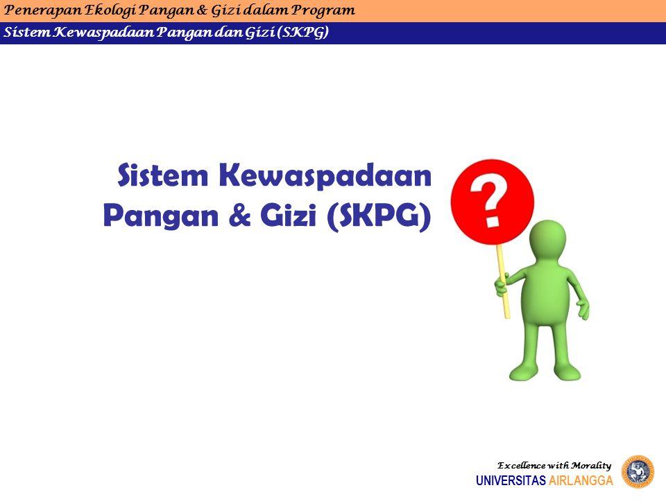 Sistem Kewaspadaan Pangan & Gizi (SKPG)