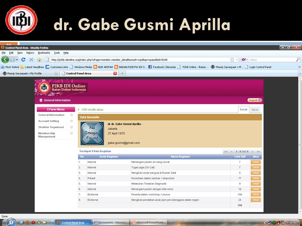 dr. Gabe Gusmi Aprilla