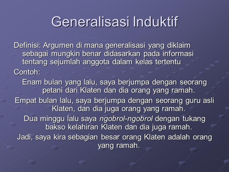 Generalisasi Induktif