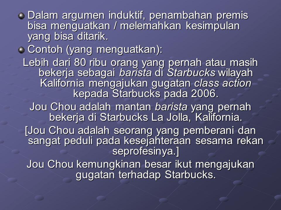 Jou Chou kemungkinan besar ikut mengajukan gugatan terhadap Starbucks.