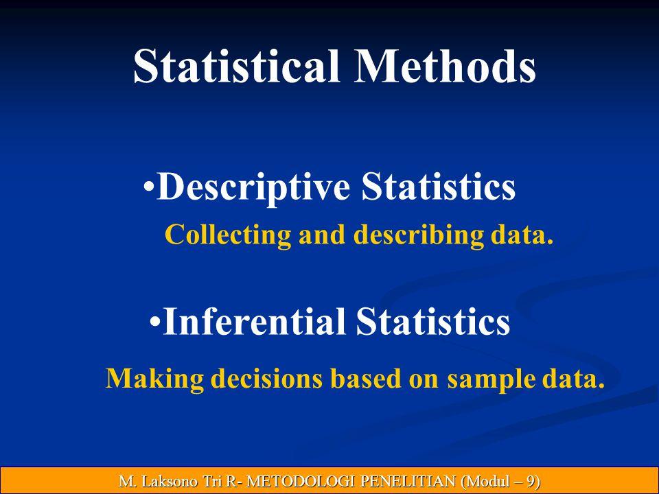 Descriptive Statistics Inferential Statistics