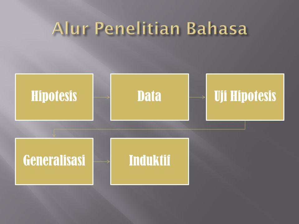 Alur Penelitian Bahasa