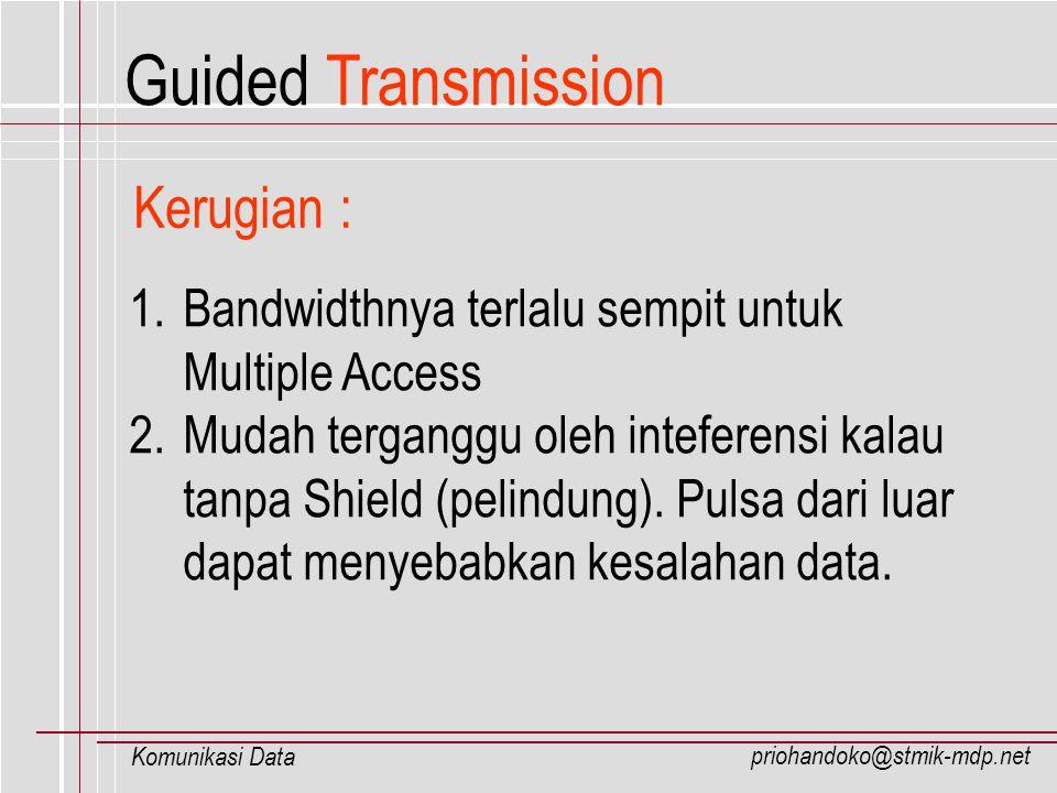 Guided Transmission Kerugian :