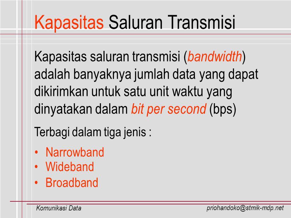 Kapasitas Saluran Transmisi