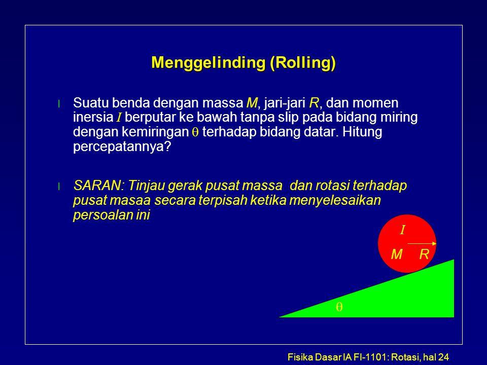 Menggelinding (Rolling)