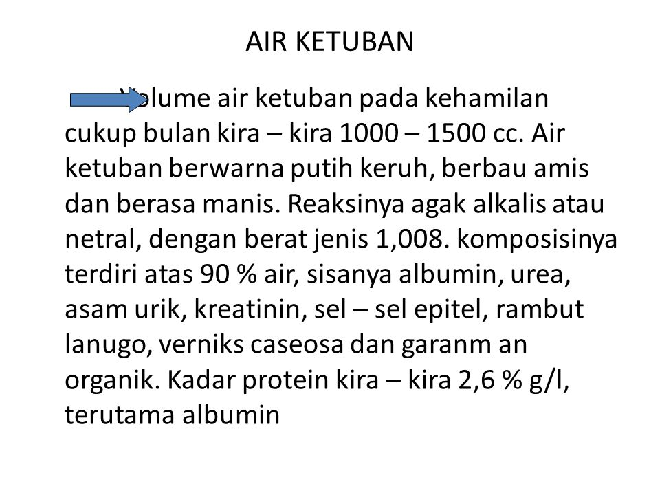 AIR KETUBAN