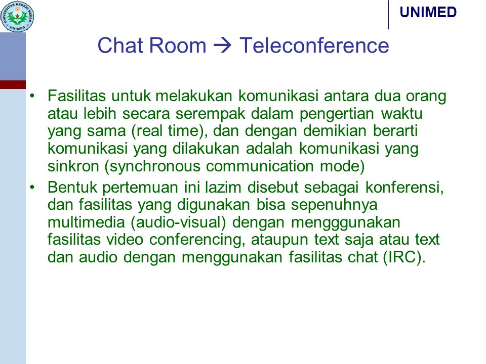 Chat Room  Teleconference
